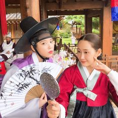 Image may contain: one or more people, people standing, hat and child Choi Seo Hee, Luna Fashion, Korean Drama Movies, Korean Dramas, Scarlet Heart, Arts Award, Moon Lovers, Talent Agency, Music Guitar