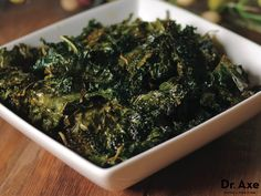 Kale chips recipe - Dr. Axe