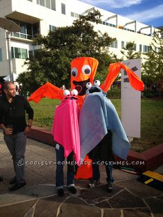 Original Sky Dancer Costume Idea: Wacky Waving Inflatable Arm Flaling Tube Man!... This website is the Pinterest of costumes