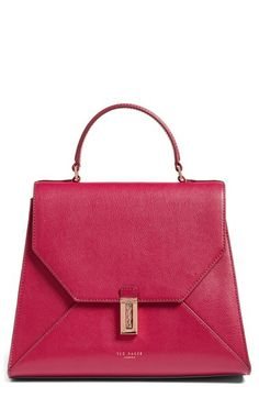 Ted Baker London Ted Baker London Pebbled Leather Crossbody Bag available at #Nordstrom