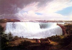 Alvan Fisher (1782-1863) - The great Horseshoe Falls, Niagara (1820)