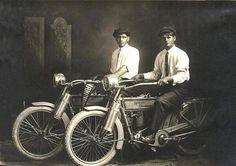01 - William Harley and Arthur Davidson 1914