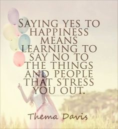 Saying yes to happiness means saying no...... #mentalhealth #boundaries #no #time #anxiety #depression #quotes #positive #energy #motivationalquotes #therapy #counseling #strength #stress #mindset