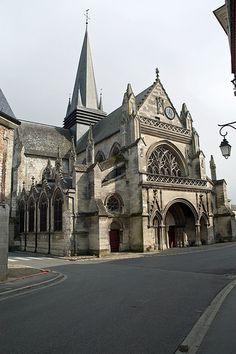 Basilique Notre-Dame de Liesse. Aisne. Picardie