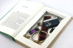 Make a Hollow Book... Revenge may possibly be getting in my head a bit much. But this is cool.