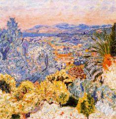 """Pierre Bonnard ~ """"The Riviera"""", 1923"""