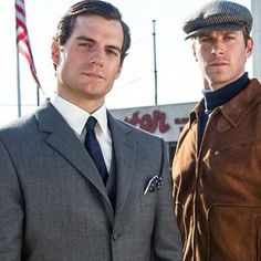 Why so serious guys? - New #ManFromUNCLE still! See you at #ComicCon Solo! #OwningIt #HenryCavill #TheManFromUNCLE #NapoleonSolo #ArmieHammer #AliciaVikander #ElizabethDebicki #guyritchie #Promo #Superman #ManofSteel #BatmanvSuperman #ClarkKent #JusticeLeague via HCO.