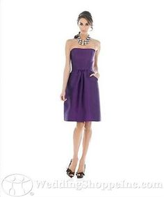 cute if in copper or bronze  Alfred Sung Bridesmaid Dress D510 $134.40