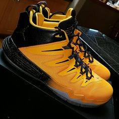 21dd8ae4311 Nike Shoes | Nike Jordan Cp3.Ix Dragon Sz. 12 Hp | Color: Black/Orange |  Size: 12
