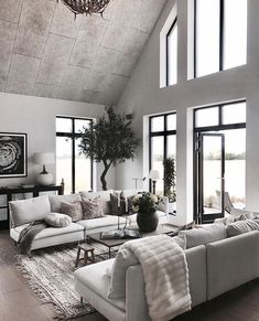 A beautifully decorated home is an expression of your personality and unique style, but decorating can become expensive quickly. There are ways to get the designer looks for less by just using your imagination and a little creativity. Living Room Designs, Living Room Decor, Living Rooms, Location Meublée, Cozy Nook, Modern Interior Design, Decor Styles, Interior Decorating, Interior Ideas