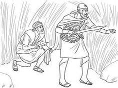 Mephibosheth coloring pages david helps mephibosheth for David and mephibosheth coloring page