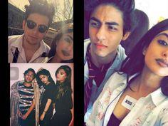 View Pics- SRK's Son Aryan Khan & Navya Naveli Nanda Gave A Hot Pose