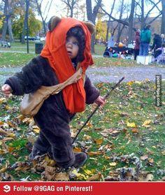 A little ewok hihi
