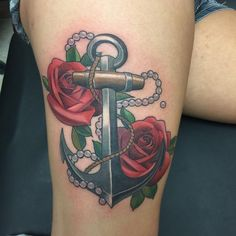 170+ Most Popular Anchor Tattoos and Meanings cool