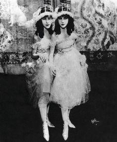 Ziegfeld Girls the Fairbanks Twins 1926