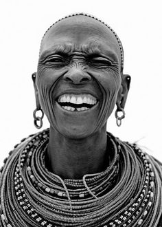 Samburua / 4 - Naguro Lepartingat from Scream London - human - people - face - portrait - black & white
