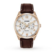 Citizen Eco-Drive Mens Watch | Classic Watches | Watches | Goldsmiths