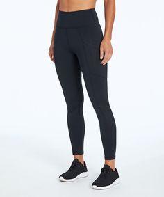 Marika 27 Black Eclipse Fleece Leggings - Women | Best Price and Reviews | Zulily Fleece Leggings, Athleisure, Amazing Women, Flexibility, Black Jeans, Tech Support, Pants, Products, Fashion