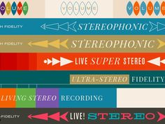 Stereostack designed by Kevin Mercer. Connect with them on Dribbble; Aids In Africa, Palette, Vintage Music, Graphic Design, Color, Shades, Colour, Pallets, Early Music