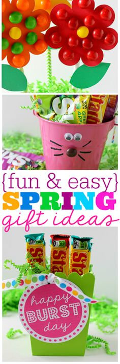 {fun & easy} spring gift ideas from GingerSnapCrafts.com #VIPFruitFlavors #collectivebias #shop