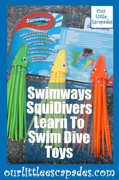 swimways squidivers learn to swim dive toys