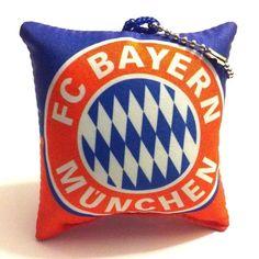 FC Bayern München Cushion Pillow Keychain