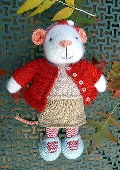 Ravelry: knitbutterflies' Seasonal dresses Pattern