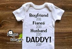 How to tell the daddy <3 More