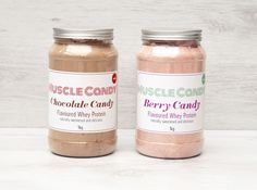 Muscle Candy Protein - the cleanest protein shake on the market. No added sugar, nothing artificial, of protein and only 4 ingredients. Whey Protein, Protein Shakes, Health And Fitness Tips, Post Workout, 4 Ingredients, Berries, Muscle, Sugar