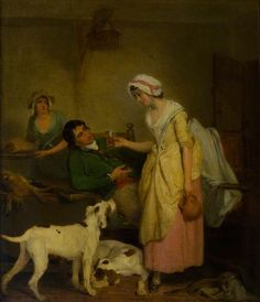 """The Sportsman's Refreshment"", Francis Wheatley, ca. 1775; National Trust for Scotland 2009.539"