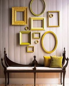 Cadres. Yellow inspiration. #frames #yellow