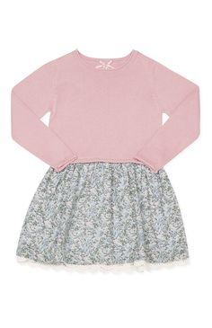 Primark - Saia floral e camisola 2 em 1 rosa