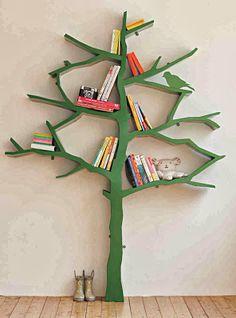 kids, kids room, nursery, tree, tree bookcase, cook case, books, play room, book shelf