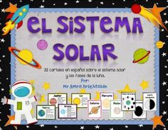 This solar system poster pack has 33 illustrations of planets, phases of the moon and the solar system in spanish. Use them in your bilingual / dual language classroom or science content wall. Display these illustrative signs to teach/ or remind your students of the planets or solar system.
