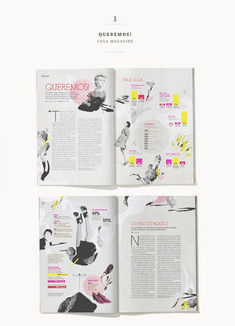 Amazing Magazine Layout Design Idea (109)