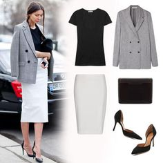 With just these five pieces at work, consider this the street-style proof that it doesn't take much to outfit your most sophisticated office ensemble. It also doesn't ...