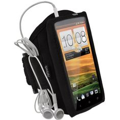 Amazon.com: igadgitz Black Water Resistant Neoprene Sports Gym Jogging Armband for HTC One X S720e & HTC One X+ Plus Android Smartphone Cell Phone: Cell Phones & Accessories. 14.99
