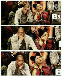 Jay Z n  Beyonce ⊙_⊙
