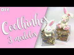 Coelhinhos MUITO FÁCEIS em Biscuit - Sah Passa o passo - YouTube