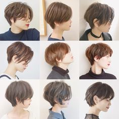 Japanese Short Hair, Asian Short Hair, Asian Hair, Short Hair Tomboy, Girl Short Hair, Pelo Ulzzang, Tomboy Hairstyles, Short Hair Undercut, Cabello Hair