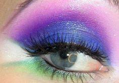 Electro Pop (sugar pill makeup)