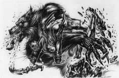 werewolf the forsaken artwork - Google Search