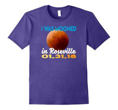 Check this Mooned Roseville Eclipse Matching T shirt-Teechatpro . Hight quality products with perfect design is available in a spectrum of colors and sizes, and many different types of shirts! Eclipse T Shirt, Martin Luther King Day, Types Of Shirts, Funny Shirts, Best Gifts, Moon, T Shirts For Women, Sweatshirts, Sweatshirt