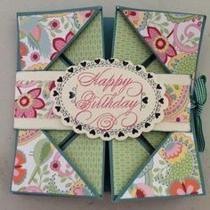 Napkin Fold card.