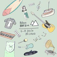 Bilbao Depeche Mode pintxos surf...  Bienvenido @bilbaobbklive! (Ilustración: @carlafuentes).  via VOGUE SPAIN MAGAZINE OFFICIAL INSTAGRAM - Fashion Campaigns  Haute Couture  Advertising  Editorial Photography  Magazine Cover Designs  Supermodels  Runway Models