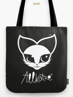 Allkatze Space Cat Tote Bag by Peter Schildwächter. #cat #illustration #cute #bag #society6 #katze Space Cat, Lights Artist, Light Art, Art Boards, Reusable Tote Bags, Graphic Design, Art Prints, Cats, Illustration