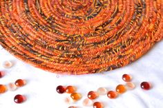 Autumn Decoration Fall Indian Corn Place Mat by WexfordTreasures