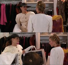 """Every woman really wants a Pretty Woman moment. Not the rich-guy-in-a-limo-with-flowers-coming-to-the-rescue part, but the walking-up-to-a-snotty-salesgirl-and-saying, """"Big mistake. Big. Huge. I have to go shopping now"""" part."""