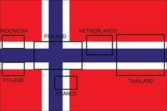 6 ülkenin bayrağı Norveç bayrağından çıkabiliyor