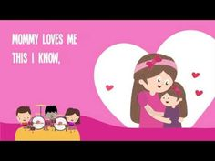 Mommy Loves Me | Love Song | Kids Songs | The Kiboomers - YouTube